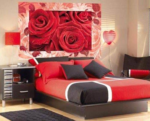 Фотообои для спальни: фото 50