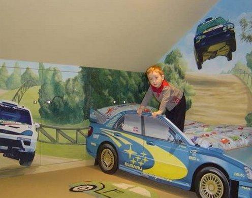 фотообои с автомобилями ралли