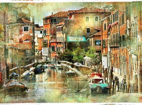 Фотообои Живопись. Венеция