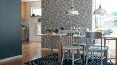 Ecowallpaper предлагает высококачественные стильные обои для кухни приятных пастельных цветов